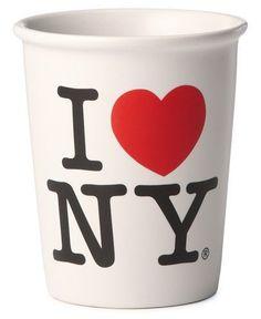 I Love NY Ceramic Cup, 10 oz.