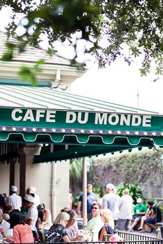 Cafe Du Monde - Order a cup of chicory coffee with your beignets or, if the weather is warm, a frozen cafe au lait. Cafe du Monde has been in the French Market since 1862 and is open 24 hours a day, 7 days a week