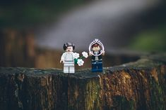 Veronica + Kevin's Legos (and Star Wars) Themed Engagement