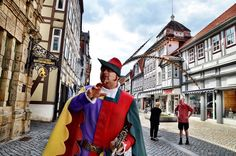 Lured By The Pied Piper To Hameln, Germany