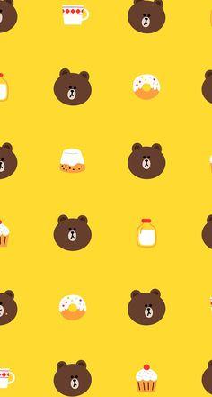 ideas for wallpaper phone cute love desktop wallpapers Lines Wallpaper, Bear Wallpaper, Cute Wallpaper Backgrounds, Wallpaper Iphone Cute, Cute Cartoon Wallpapers, Pretty Wallpapers, Pattern Wallpaper, Desktop Wallpapers, Cute Disney Wallpaper