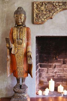 Interior | Saffron Standing Buddha