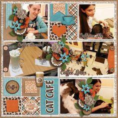 Layout using {Coffee Break} Digital Scrapbooking Mini Kit by Cathy K Designs http://store.gingerscraps.net/Coffee-Break-Mini-Kit.html #digiscrap #digitalscrapbooking #cathykdesigns #coffeebreak