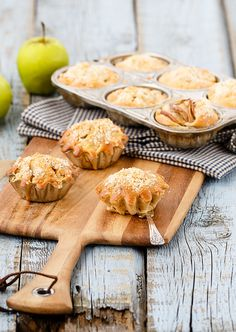 Apple muffins by Julicious on Flickr.