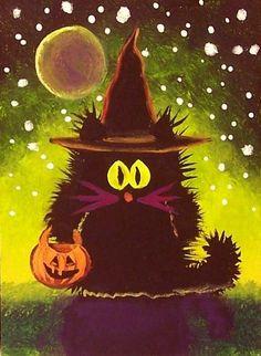 Scaredy Cat Witch