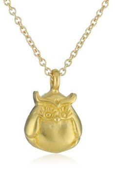 """Dogeared Jewels & Gifts """"Love"""" Gold-Plated Silver Owl Love You Forever Necklace Dogeared Jewels & Gifts, http://www.amazon.com/dp/B00ANY5HY2/ref=cm_sw_r_pi_dp_DBgkrb0QKW6QD"""