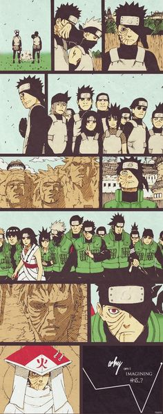 Obito Uchiha. A different life; a different path. Just another similarity between himself and Naruto, in fact I think Obito's character is to show us what could've happened to Naruto had he chosen a different path that led away from being the hero.