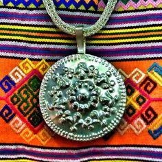 Nungkolo Fabric And The Pendant Originally From Nusa Tenggara Timur, East Indonesia. #pasarindonesia