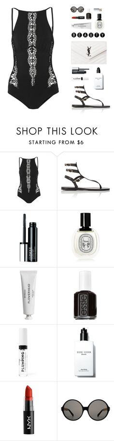 """""""""""It's not just other people we need to forgive. We also need to forgive ourselves. For all the things we didn't do. All the things we should have done."""" -Mitch Albom"""" by are-you-with-me ❤ liked on Polyvore featuring I.D. SARRIERI, Ancient Greek Sandals, Clinique, Diptyque, Byredo, Essie, Bobbi Brown Cosmetics and Linda Farrow"""