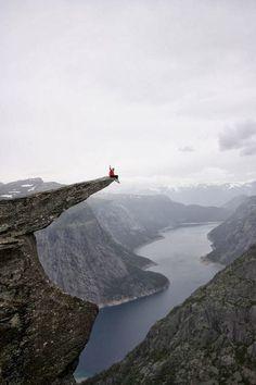 Trolltunga Rock - Odda, Norway