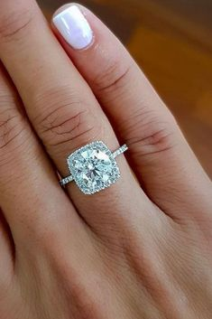 18 Best Brilliance Engagement Rings For Somebody Special ❤️ best brilliance engagement rings pave band diamond halo round cut ❤️ See more: http://www.weddingforward.com/best-brilliance-engagement-rings/ #weddingforward #wedding #bride #engagementrings #bestbrillianceengagementrings