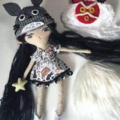 Studio Ghibli Fan Art Doll. San Cosplay. Totoro. Princess