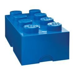 The stackable LEGO® Storage Brick is a great way to stay organized.