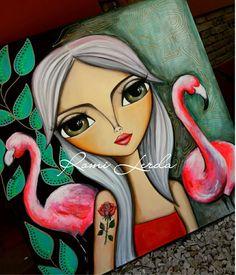Nova Image, Art N Craft, Arte Popular, Painting For Kids, Medium Art, Cute Art, Art Girl, New Art, Art Drawings