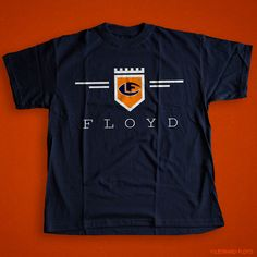 Leonard Floyd© Official Logo Shirt- These are unisex (mens) Cotton with HTV Graphics. These tees are available in navy, orange, black & charcoal in. Leonard Floyd, Crest Logo, Chicago Bears, Tees, Shirts, Graphics, Unisex, Orange, Navy