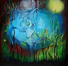 The Fish and I Will Chat - Part 2 - Infinite Vision Art - Pamela Sukhum