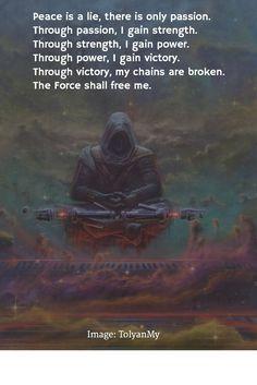 Even Siths need meditation... #StarWars #Meditation