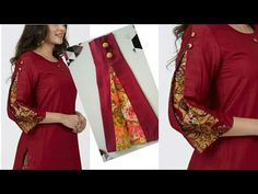 Neck Designs For Suits, New Blouse Designs, Neckline Designs, Sleeves Designs For Dresses, Sleeve Designs, Churidar Neck Designs, Kurta Designs, Red Ball Gowns, Kurti Designs Party Wear