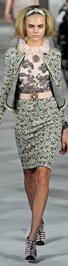 inspo - fishnets elegance