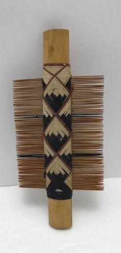 American Indian Seneca Hair Comb : Lot 0268