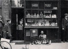 The smallest shop in London. | old school | war time | shop | second world war | London | cute | commitment | shop keeper