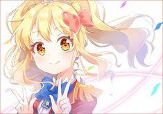 Blonde Anime Girl, Anime Art Girl, Simple Anime, Calendar Girls, Character Poses, Magical Girl, Anime Love, Subaru, Kawaii Anime