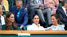 Pippa Middleton stepped out alongside Kate Middleton and Meghan Markle for the women's singles final at Wimbledon on July She wore a gorgeous floral dress for the event. Maisie Williams, Serena Williams, Kate And Pippa, Kate And Meghan, Harry And Meghan, Pippa Middleton, Duchess Kate, Duke And Duchess, Duchess Of Cambridge