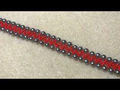 Super Easy Beaded Bracelet Tutorial - YouTube