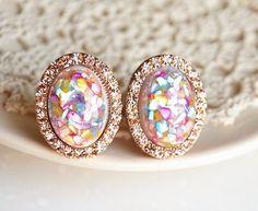 rose gold opals.