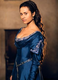 Merlin Series 5. Angel Coulby as Queen Guinevere. She was so amazing as the Queen. I loved her character.