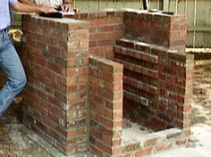 How to Build a Brick Barbecue :