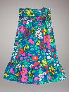 John Lewis 'Corduroy Flower Pinafore Dress'