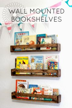 Inexpensive bookshelves - DIY