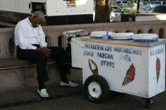 Puerto Rican ice cream vendor.. if you haven't ever had Puerto Rican ice cream (coconut, mango, etc..), then you're REALLY missing out!