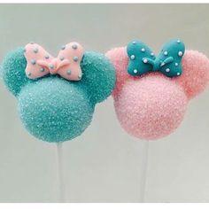 Lindo! Ficaria perfeito um Chá Revelação do Mickey e Minnie Baby #festejandoemcasa #charevelacaofc by festejandoemcasaoficial