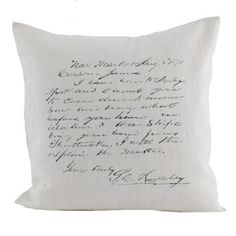 Yours Truly Pillow