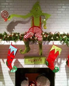 Welcome Christmas Grinch Decorations Outdoor Pinterest