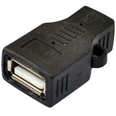 USB 2.0 A female jack to USB Micro 5 Pin jack female Adapter Converter connector Generic http://www.amazon.com/dp/B00NIGQZYI/ref=cm_sw_r_pi_dp_jM9hub0XKD2V8