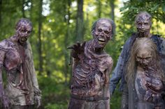 Walking Dead': You'll never see a full-skeleton zombie - Business ...