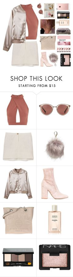 """""""Untitled #2887"""" by tacoxcat ❤ liked on Polyvore featuring Oh My Love, Oliver Peoples, Tory Burch, Nila Anthony, Valentino, Chanel, Bobbi Brown Cosmetics and NARS Cosmetics"""