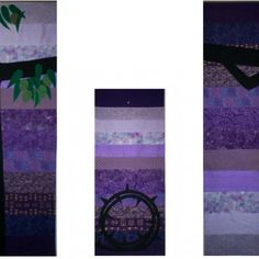 Banners for Trinity Presbyterian Church in Kailua, HI Church Banners Designs, Church Altar Decorations, Apc, Banner Design, Seasons, Contemporary, Purple, Handmade, Seasons Of The Year