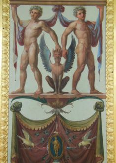 From Catherine the Great's replica of the Raphael Loggia in the Hermitage