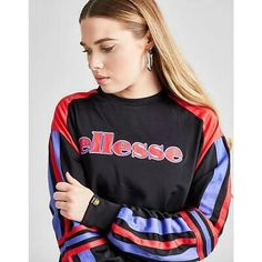 Ellesse, Jumper, Lighting Logo, Sports Brands, Sport Wear, Hoodies, Sweatshirts, Logos, Navy And White