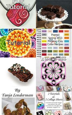 Polymer Clay Tutorials on Etsy