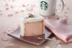 Starbucks Japan - the cakes are delicious - blows the American 'cakes' out of the water!