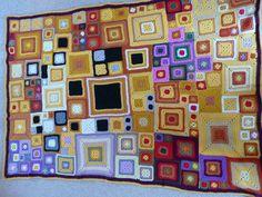 Klimt influenced Babette Blanket