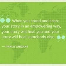 "Photo: ""When you stand and share your story in an empowering way, your story will heal you and your story will heal somebody else.""- Iyanla Vanzant This : ) and appreciate the words so much moreMarissa The Words, Cool Words, Life Quotes Love, Quotes To Live By, Helping Others Quotes, Iyanla Vanzant, Motivational Quotes, Inspirational Quotes, Quotable Quotes"