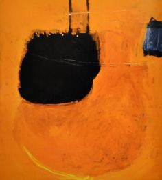 Structure and Imagery: Roger Hilton:Tasteful or Turbulent Abstract Images, Abstract Art, Abstract Paintings, Abstract Drawings, Abstract Expressionism, Modern Art, Contemporary Art, Orange Art, Love Art
