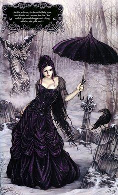 victoria frances poster parasol girl fantasy art is part of Victoria frances - Victoria Frances Poster, Parasol Girl Fantasy Art Darkart Gothic Gothic Vampire, Vampire Art, Dark Gothic, Dark Fantasy, Fantasy Art, Black Umbrella, Umbrella Art, Illustration Fantasy, Victoria Frances