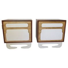 Check out this item at One Kings Lane! Vladimir Kagan-Style Nightstands, Pair
